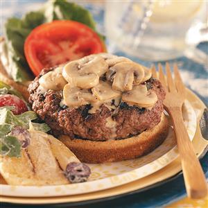 Bacon-Blue Cheese Stuffed Burgers Recipe
