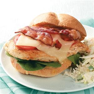 Bacon-Chicken Sandwiches Recipe