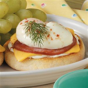 Bacon-Egg English Muffin Recipe