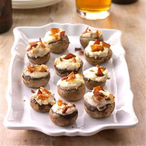 Bacon-Stuffed Mushrooms Recipe