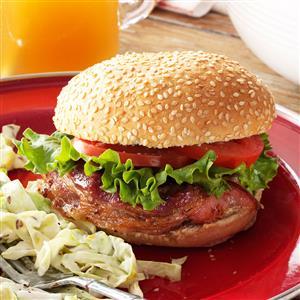 Bacon-Wrapped Hamburgers Recipe