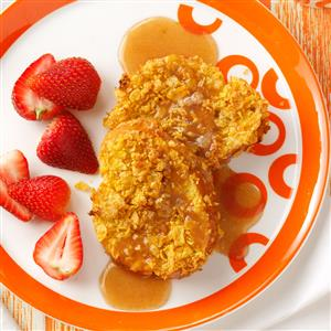 Baked French Toast with Home Style Syrup Recipe