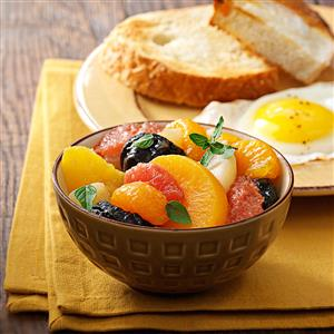 Baked Fruit Compote Recipe