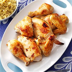 Baked Honey-Glazed Chicken Recipe