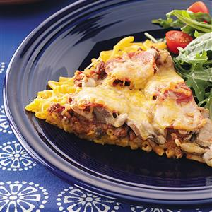 Baked Macaroni N Cheese Pizza Recipe
