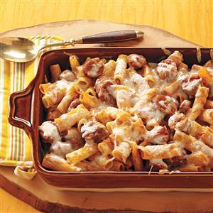 Baked Rigatoni & Sausage Recipe
