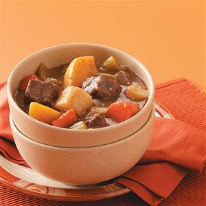 Baked Stew with Root Vegetables Recipe