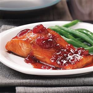 Baked Strawberry Salmon Recipe
