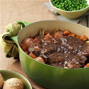 Balsamic Braised Pot Roast