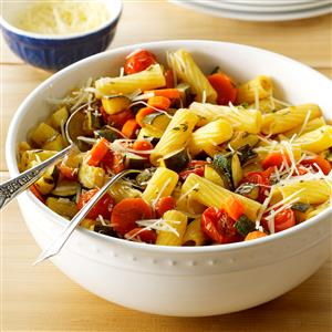 Balsamic Roasted Vegetable Primavera Recipe