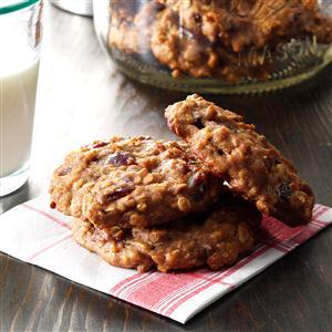 Banana Oat Breakfast Cookies Recipe