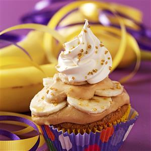Bananas Foster Surprise Cupcakes Recipe