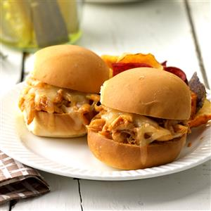 Barbecue Chicken Sliders Recipe