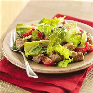 Barbecue Pork Salad Recipe