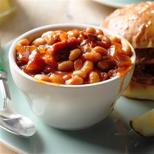 Barbecued Beans Recipe