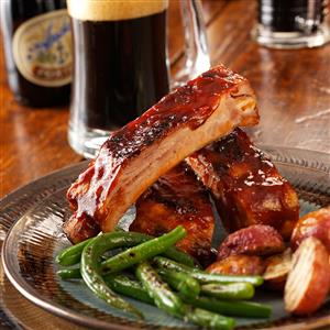Barbecued Ribs with Beer Recipe