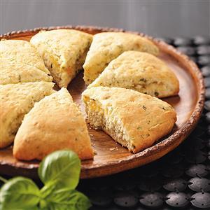 Basil Marmalade Scones Recipe