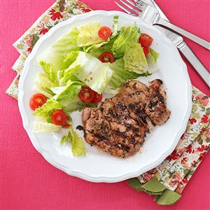 Basil-Mint Chicken Thighs Recipe