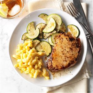Basil Pork Chops Recipe