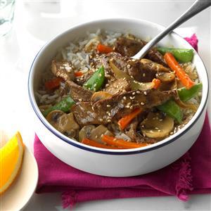 Beef Orange Stir-Fry Recipe