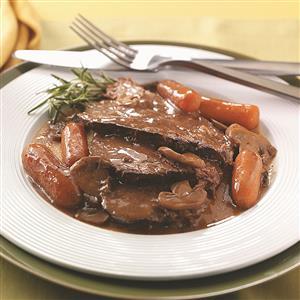 Beef Roast with Gravy Recipe