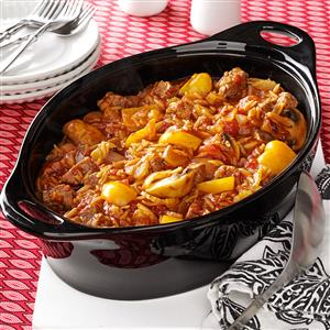 Beef and Orzo Skillet Recipe