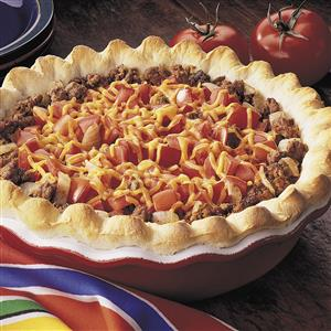 Beef and Tomato Pie Recipe