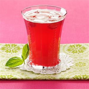 Bella Basil Raspberry Tea Recipe