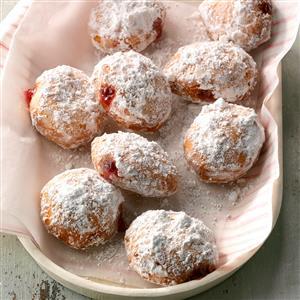 Berry-Filled Doughnuts Recipe