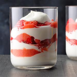 Berry Rhubarb Fool Recipe
