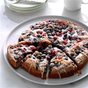 Berry-Topped Coffee Cake Recipe