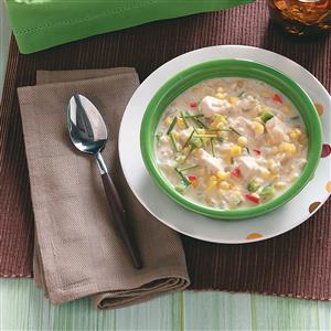 Best-Ever Chicken Fajita Chowder Recipe