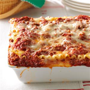 Best lasagna recipe taste of home best lasagna recipe forumfinder