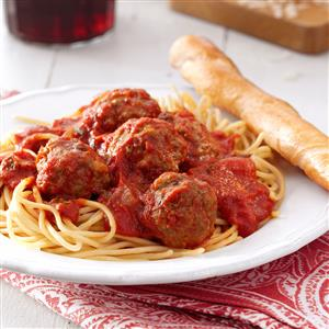 homey inspiration olive garden home delivery.  Best Spaghetti and Meatballs Recipe Taste of Home