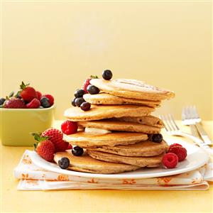 Better-For-You Buttermilk Pancakes Recipe