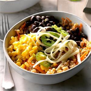 Black Bean Bulgur Salad Recipe