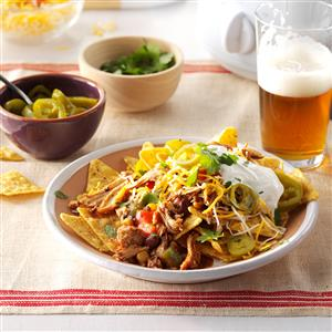 Black Bean Chicken Nachos Recipe