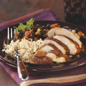 Black Bean Chicken with Rice for Two Recipe