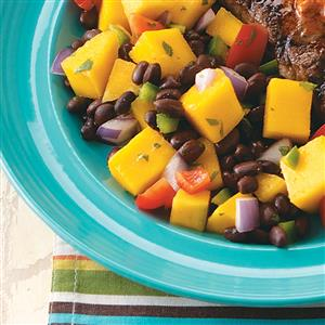 Black Bean-Mango Salad Recipe