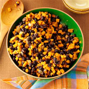 Black Bean-Sweet Potato Skillet Recipe