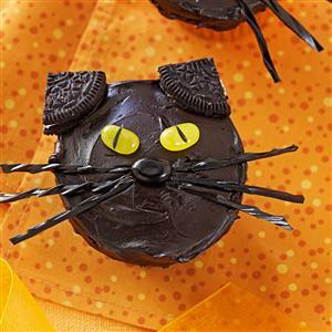 Black Cat Cupcakes Recipe