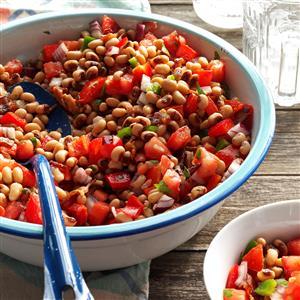 Black-Eyed Pea Tomato Salad Recipe