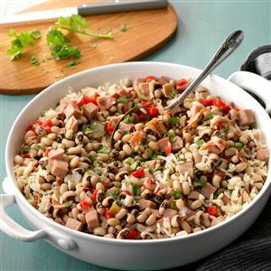Black-Eyed Peas & Ham Recipe