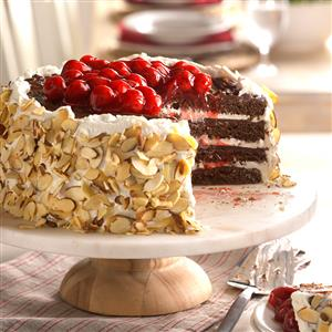 Black Forest Chocolate Torte Recipe