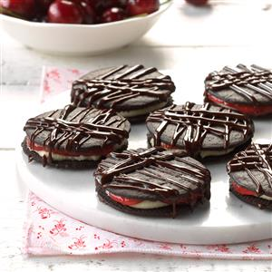 Black Forest Icebox Cookies Recipe