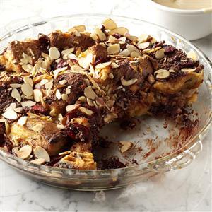 Black Forest Panettone Pudding  Recipe