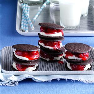 Black Forest Sandwich Cookies Recipe