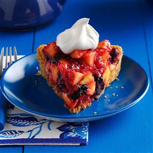 Blackberry Nectarine Pie