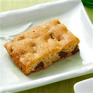 Blondies with Chips Recipe