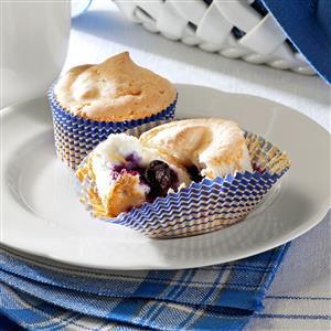 Blueberry Angel Cupcakes Recipe